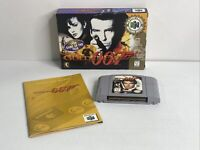 N64 007 GoldenEye Complete CIB Nintendo 64 Tested Authentic Near Mint In Box