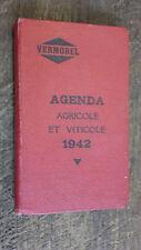 Agenda agricole et viticole 1942 / Vermorel