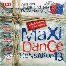 Musik Doppel CD Sampler Maxi Dance Sensation Vol. 13