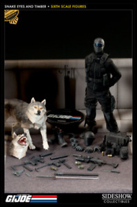 Sideshow - G.I. Joe - Snake Eyes & Timber - 1/6 Scale Figure - Exclusive Edition