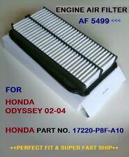 HONDA AIR FILTER ODYSSEY V6 02-04 AF5499 High Quality Product+Fast Shipping!!^O^