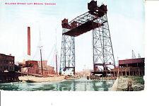 Chicago, Il Halstead Street Lift Bridge 1913