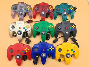 GREAT Nintendo 64 ORIGINAL CONTROLLER TIGHT STICK! OEM AUTHENTIC RED BLUE GREEN