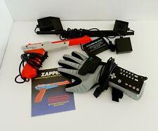 Nintendo Nes Power Glove Zapper Gun With Manual Untested