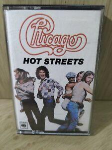Chicago,Hot Streets... Cassette Tape.