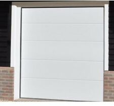 Electric Sectional Ribbed Garage Door INSTALLED Best On eBay Supply And Fit
