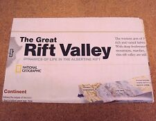 National Geographic November 2011 Map Poster The Great Rift Valley Africa Lakes