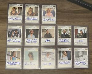 James Bond 007 Upper Deck Autograph Cards