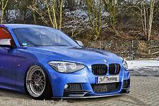 Spoilerschwert Frontspoiler Cuplippe aus ABS für BMW 1er F20 F21 M-Paket mit ABE