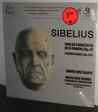 SIBELIUS Violin Concerto / Humoresques DAVID OISTRAKH LP FACTORY SEALED
