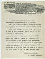 GRAPHIC 1912 LETTERHEAD LOUISVILLE TIN & STOVE CO. LOUISVILLE KENTUCKY