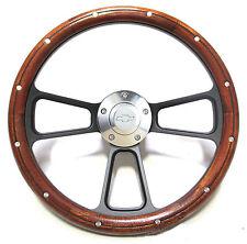 Custom Mahogany & Billet Steering Wheel Kit for 1969 - 1994 Chevy Camaro