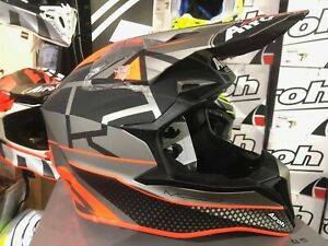 Airoh Wraap Off Road Enduro Mx Helmet Mood Orange M L X Large Acu Approved