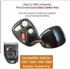 97 98 99 00 Grand Prix keyless remote entry control OEM key fob replacement case