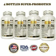 4X Ultra Probiotic 50-100 Billion CFUs Now Whole Research Ultimate Flora In USA