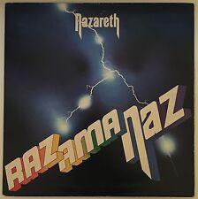 NAZARETH Razamanaz UK vinyl LP EXCELLENT CONDITION