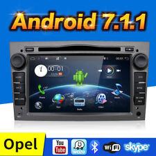 Android 7.1 Autoradio GPS SAT NAV DVD 2 DIN FÜR OPEL CORSA ASTRA VECTRA ZAFIRA