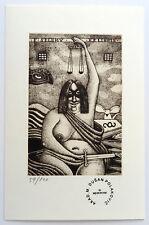 Dusan Polakovic - Exlibris Ex libris Erotik erotic 59/100