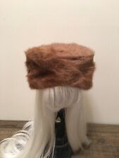 Vintage Ladies Mink Hat no size