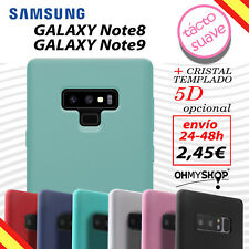 Funda Samsung Galaxy Note 8/Note 9 Carcasa Silicona Gel Flexible Tpu Ligera