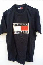 Tommy Hilfiger Jersey Tee T-Shirt Short Sleeve Black Size XL