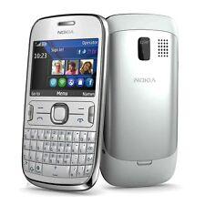 Nokia Asha 302 White Weiß RM-813 AZERTY Tastatur Symbian S40 Ohne Simlock NEU