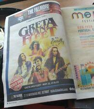 Detroit Metro Times Tabloid Greta Van Fleet Artist