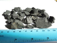 28 piece lot of ROUGH NATURAL SHUNGITE from RUSSIA 50 grams;Purification Item #1