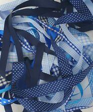 Blue Shade Ribbon Bundles Berisfords A Selection of 10 x 1m Lengths