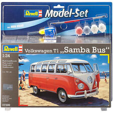 """Revell Volkswagen T1 """"Samba Bus"""" with Paints, Brush & Adhesive (Scale 1:24)"""