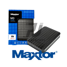 HARD DISK ESTERNO 2,5 1000GB SAMSUNG/MAXTOR USB 3.0 1TB PER APPLE MacOS/WINDOWS