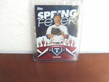 Yu Darvish #11 Autographed Topps 2015 Spring Fever #SF 23 Card Texas Rangers
