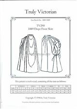 OLD WEST 1880's style draped skirt sewing pattern Truly Victorian TV290