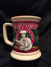 POLAR EXPRESS 3D HOT CHOCOLATE CHEF MUG CUP Warner Bros.