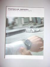 BROCHURE PORSCHE DESIGN DRIVER'S SELECTION 2005
