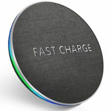 Wireless Phone Charger Qi USB Fast Charging Pad Quick For Iphone Samsung 5000mah