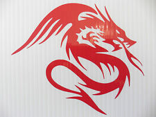 Dragons demon devil monster stickers/car/van/bumper/window/decal code 5256 RED