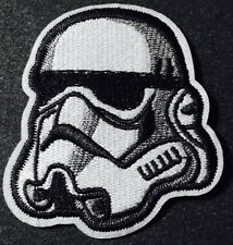 "High Quality STAR WARS STORM TROOPER Embroidered Iron On Patch (3"")"