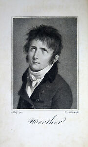 GOETHE, Johann Wolfgang von — Werther — 1804 — EO de la traduction de Sévelinges