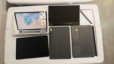Samsung Galaxy Tab S6 Unlocked 128GB, Wi-Fi, 4G, Bundled with OEM Keyboard Case