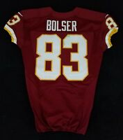 #83 Ted Bolser of Washington Redskins NFL Game Issued Player Worn Jersey