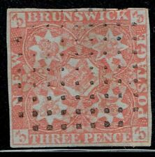 New Brunswick #1 used stamp