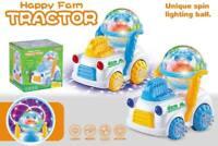 Traktor Selbstfahrendes Auto Spielzeug Kinderspielzeug LED Licht & Sound