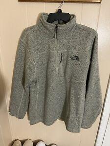 The North Face Men's Gordon Lyons Tan Brown Pullover Size Regular Medium