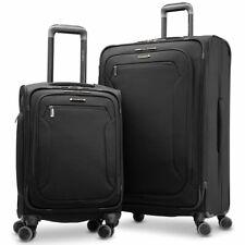 Samsonite Explore Eco 2 Piece Softside 4 Wheel Spinner Suitcase Luggage Set