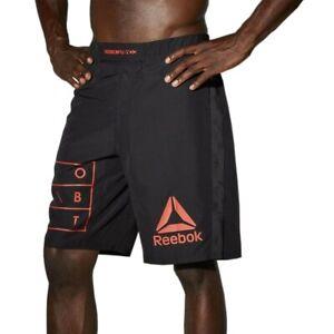 Reebok Combat UFC Men's Black Speedwick MMA Hero Training Shorts S99251