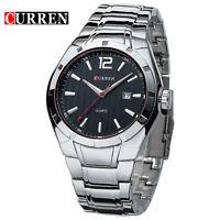CURREN Men's Fashion Stainless Steel Analog Date Sport Quartz Wrist Watch 8103