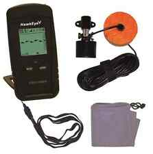 HawkEye Portable Fishfinder Fish Finder With Depth, Structure and Weed Reading