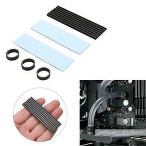 M.2 NGFF NVMe 2280 PCIE SSD Aluminum Cooling Heat Sink Heatsink Thermal Pad M3B5