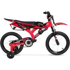 Kid 12 Inches Moto BMX Bike Dirt Boy Girl Saddle Bicycle Sport Cycling Red 2-5YR